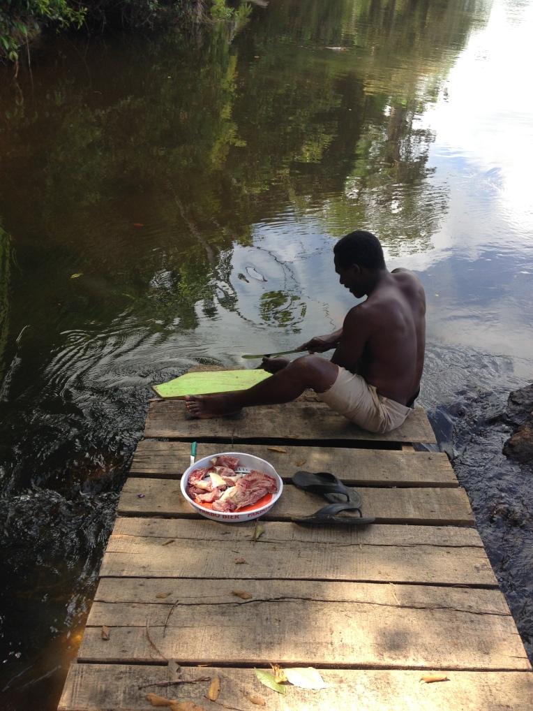 3. Boven Suriname - lodge slaapplaats Botopassie 4