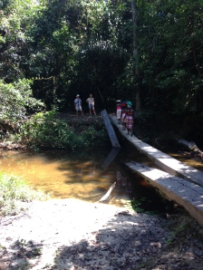 3. Boven Suriname - Pikin Slee - Botopassie wandeling 1