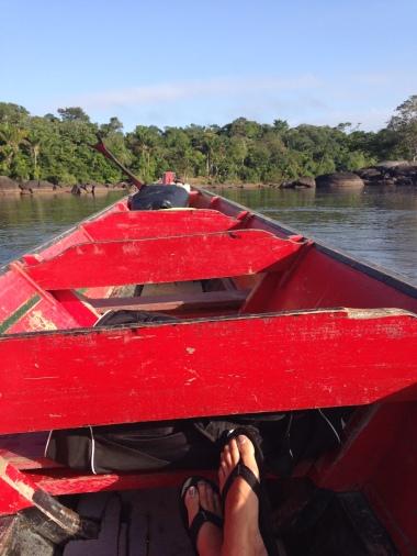 3. Boven Suriname - terugreis 1