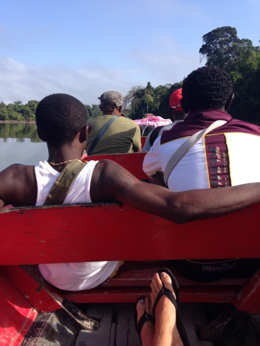 3. Boven Suriname - terugreis 2