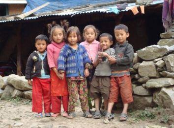 kids nepal