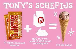 Tony's Chocolonely schepijs