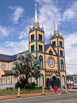 1. Paramaribo - kathedraal 1