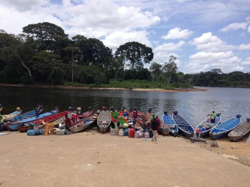 3. Boven Suriname - heenreis 3