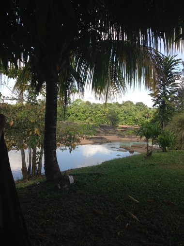 3. Boven Suriname - lodge slaapplaats Botopassie 1