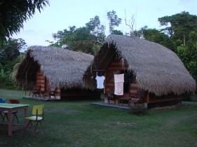 3. Boven Suriname - lodge slaapplaats Botopassie 5
