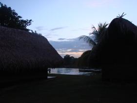 3. Boven Suriname - lodge slaapplaats Botopassie 7